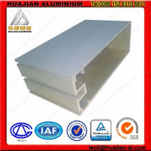 Perfis de alumínio chinês para cortina de parede