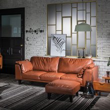 Canapé décoratif Chesterfield Leather 321 Seater Lounge