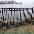 Cerca barata da piscina da segurança da liga de alumínio
