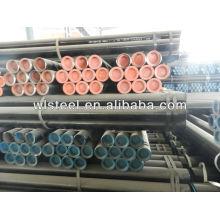 ASTMA53 / A106 / API5L GB tubo de acero galvanizado corrugado