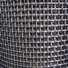 304 Edelstahl gecrimpte Drahtgewebe / gecrimpte Gewebe Drahtgeflecht