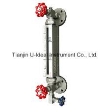 Indicador de nivel del tubo de vidrio bicolor de alta temperatura-Indicador de nivel tubular