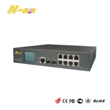 8-Port-PoE-Gigabit-Switch verwaltet