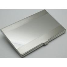 Titular de cartão de design de alumínio de design criativo, titular de cartão de identificação