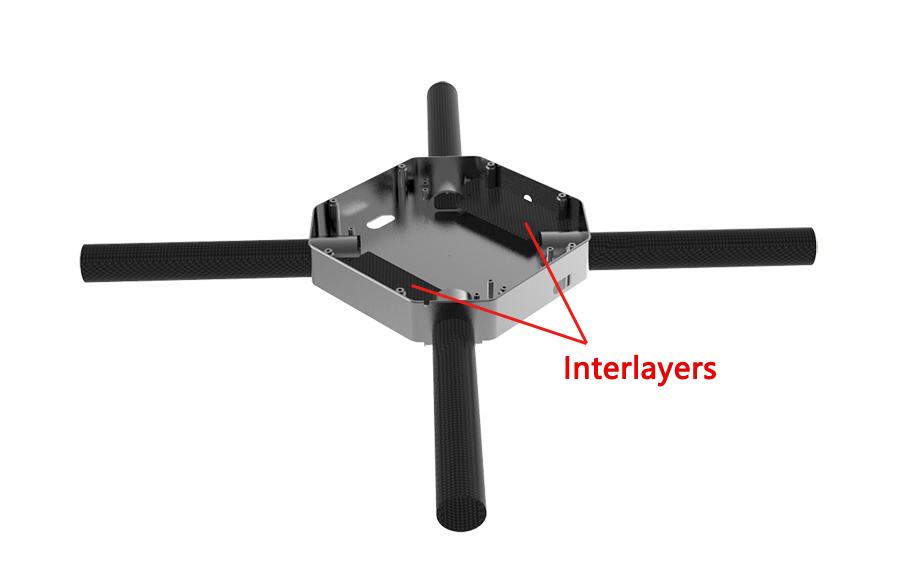 Drone Aluminium Frame