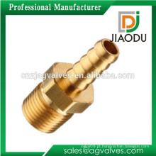 Custom Made OEM / ODM 1 2 3 4 polegadas DN15 20 China de alta qualidade de cobre de alta pressão macho e montagem de mangueira de latão