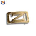 Boucles de ceinture en alliage de zinc personnalisées en vrac