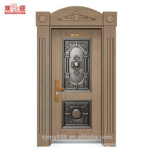 Outswing exterior entrance steel wrought iron entry door