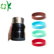 BPA Free Customized Silicone Bottom Sleeve para Garrafa