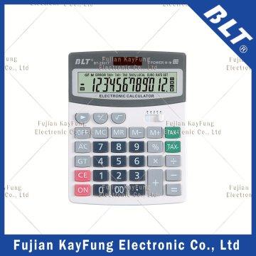 12 Ziffern Steuerfunktion Tischrechner für Haus (BT-2501T)