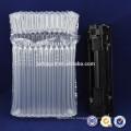 Embalaje de plástico aire columnas bolsa burbuja transparente PE/PA para cartucho de toner de embalaje protector de amortiguador