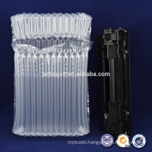 PE/PA transparent Plastic Air columns Bag bubble packaging for cushion protective packaging toner cartridge