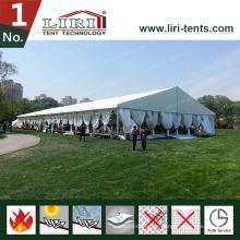 10X30m Hochzeitszelt mit Luxusfutter für 300 Personen