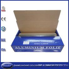 Тип крена алюминиевой фольги Домочадца для упаковки еды