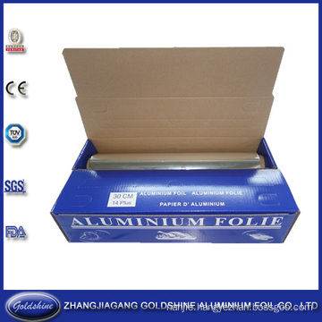 Roll Type Household Aluminum Foil for Food Packaging