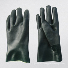 Rough Finish PVC Coated Glove with String Knit Liner-5130