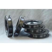 Filamento enrolado preto personalizado do tungstênio de Wal1 99,95% para o diâmetro de aquecimento 0,06mm