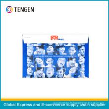 Enveloppe de carton de colis logistique pour l'emballage de documents