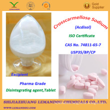 Crosscarmellose Sodium,Pharmaceutical Excipient,CAS No.74811-65-7