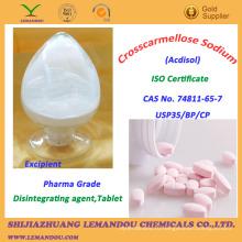 Натриевая кроскармеллоза, сертификат ISO, дезинтегрирующий агент, таблетка