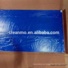 Estera de goma azul del Cleanroom de 24X36inch 30 capas estera pegajosa / estera adhesiva proveedor
