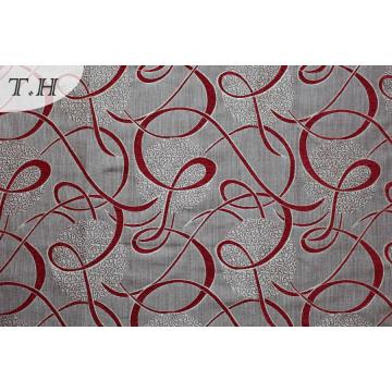 Ткани жаккард Филиппины красный полиэстер мебель (fth31942)