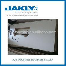 JAKLY máquina de costura industrial MESA DE BORDO DE MADEIRA