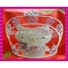 New Designs Rhinestone Crown, couronne de mode 2015