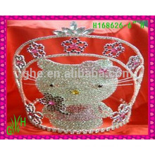 New Designs Rhinestone Crown, 2015 fashion crown