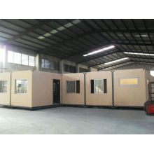 Au Standard Prefab Container Villa, One-piece Steel Frame Pvc / Aluminum Window
