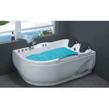 Popular natural stone whirlpool bathtub with competitive price