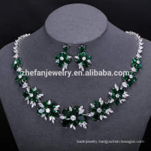 African Beads Bridal necklace Women Wedding Dress Accessories Long Jewelry Sets