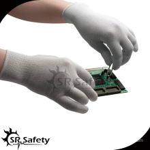 SRSAFETY 13G PU Coated esd nylon glove