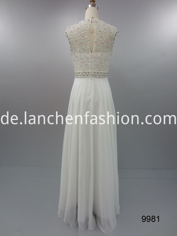 lace white back