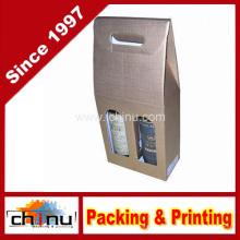 Cajas de regalo de vino de cartón rígido (2335)