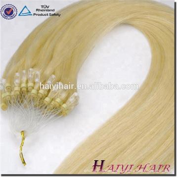 Alibaba Экспресс Бразильский человеческих волос двухместный нарисованные 11А класс 1Г/прядь микро-Петля расширение кольца волос
