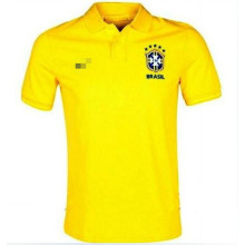 2013-14 new style Brazil polo shirt world cup t-shirt