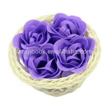 Мыло подарочное роза формы с высоким качеством