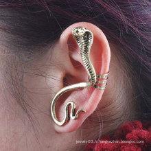 Punk Style Unique Serpent Ear Manet Boucles d'oreilles Ear Clip EC05