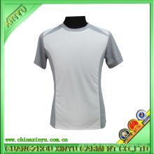 Polyester Dry Fit T-Shirts mit grauen Achselhöhlen