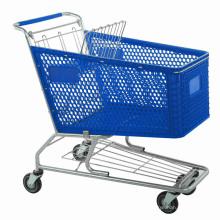 Baby Seat Supermarket Plastic Shopping Cart