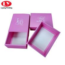 Pink Paper Gift Box Bra or Underwear Packaging
