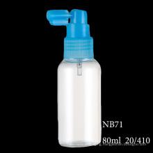 Cosmetic Pump Spray Bottle Liquid Plastic Refillable Bottle Various Size (NB71)