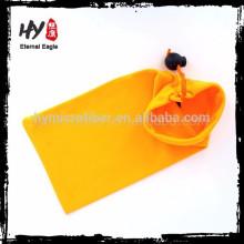 Estuche blando de gafas de sol de microfibra para nuevos productos, bolso de anteojos con cordón