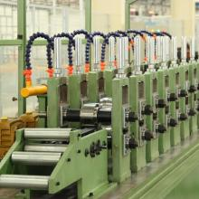 Steel light gauge sheet roll forming machine