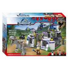Boutique Baustein Spielzeug-Dinosaurier Flucht 01