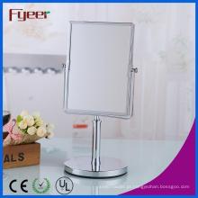 Fyeer Retângulo Vaidade Espelho Desktop Free Standing Mesa De Maquiagem Espelho