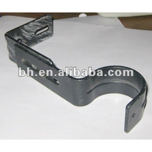CB028 durable single iron curtain rod brackets/ holders/crutch/stand for curtain rod 25mm and windows & home decor