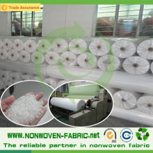 10machine Lines Nonwoven Fabric en rollo