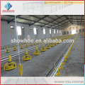 Showhoo Prefabricated bajo precio estructura de acero avícola para la venta